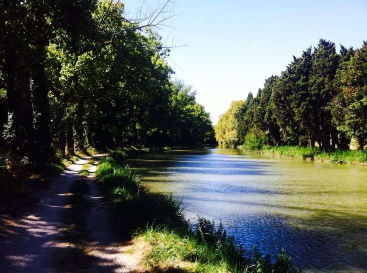 Canal du Midi proche de Carcassonne @Languedoc