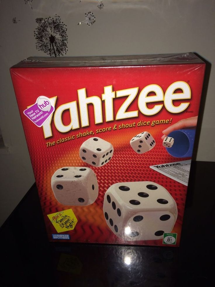 Yahtzee Game Brand New SEALED 2005 Parker Brothers | Toys & Hobbies, Games, Board & Traditional Games | eBay!