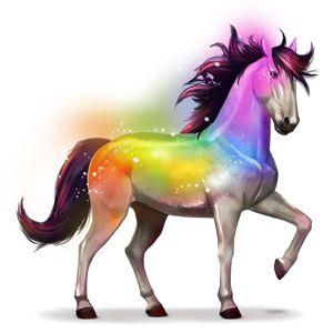 Secret Rainbow, Cavallo dell'arcobaleno Secret Rainbow #4422 - Howrse