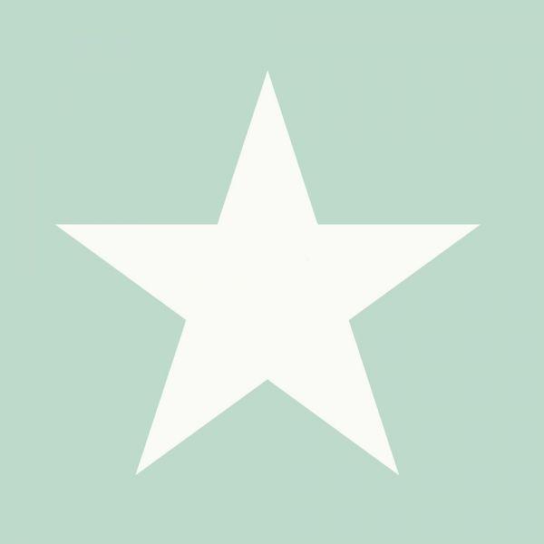 Stilren tapet med stora stjärnor från kollektionen Everybody Bonjour 128701. Klicka för att se fler fina tapeter för ditt hem!