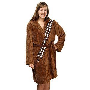 Chewbacca Ladies' Robe | ThinkGeek