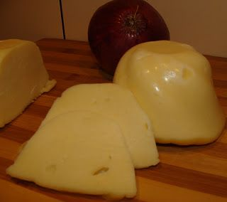 Irene's Cuisine Cheese ~  Romanian Cascaval cheese, made from farmer cheese