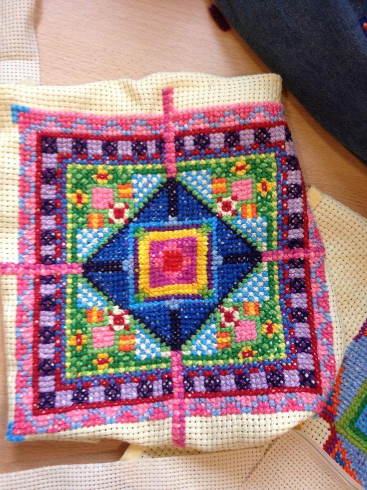 Class 4 needlework project...