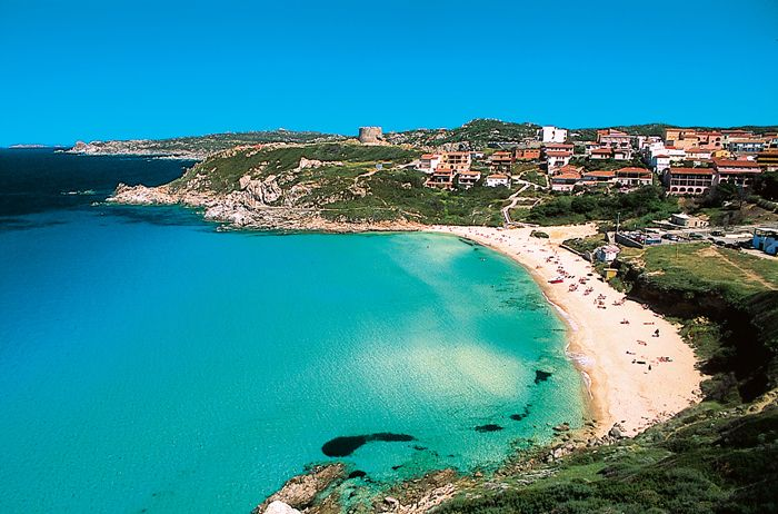 Sardinia 'dream places to go'
