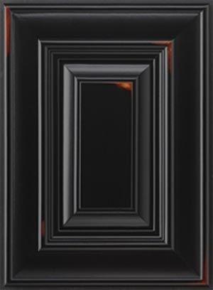 Black Distressed Kitchen Cabinets distressed black cabinets in kitchen pictures | kitchen cabinet