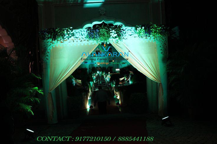 Wedding Decor Entrance