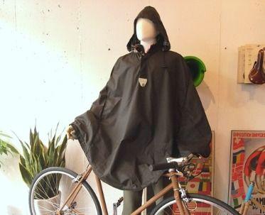 Duxback waxed cotton rain cape $119.95 http://cyclestyle.com.au/shop/capes/duxback-waxed-cotton-rain-cape/