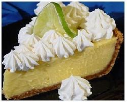 Key Lime Pie! Paula Deen's recipe.