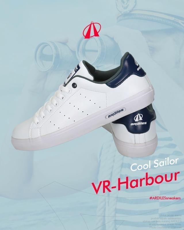 Cool Sailor  @ArdilesSneakers Lovers, labuhkan energimu pada sneakers VR-Harbour White-Blue. Kekuatan material lateks organik dikuatkan oleh finishing yang presisi, meyakinkan langkahmu untuk terus berani menjejak dan bergerak. Alas kakimu ini bisa dilihat di www.ardilesmetro.com! #GoForIt  #ardiles #ardilessneakers #sneakers #indonesia #madeinIndonesia #NaturalRubber #doodle #fashion #pictoftheday #ootd #casual #keren #kekinian #livefolkindonesia #traveling #jalan2man #indie #jakarta…