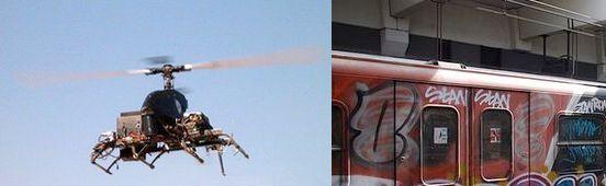 Anti-Graffiti Drones – Cyber Surveillance