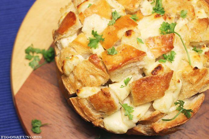 Pão Italiano Recheado | Blog Figos & Funghis