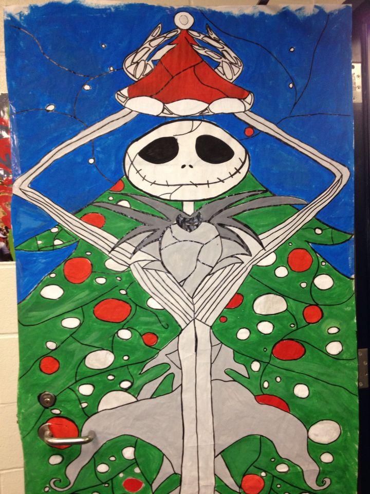 21 best Door Decorations images on Pinterest | Christmas ...