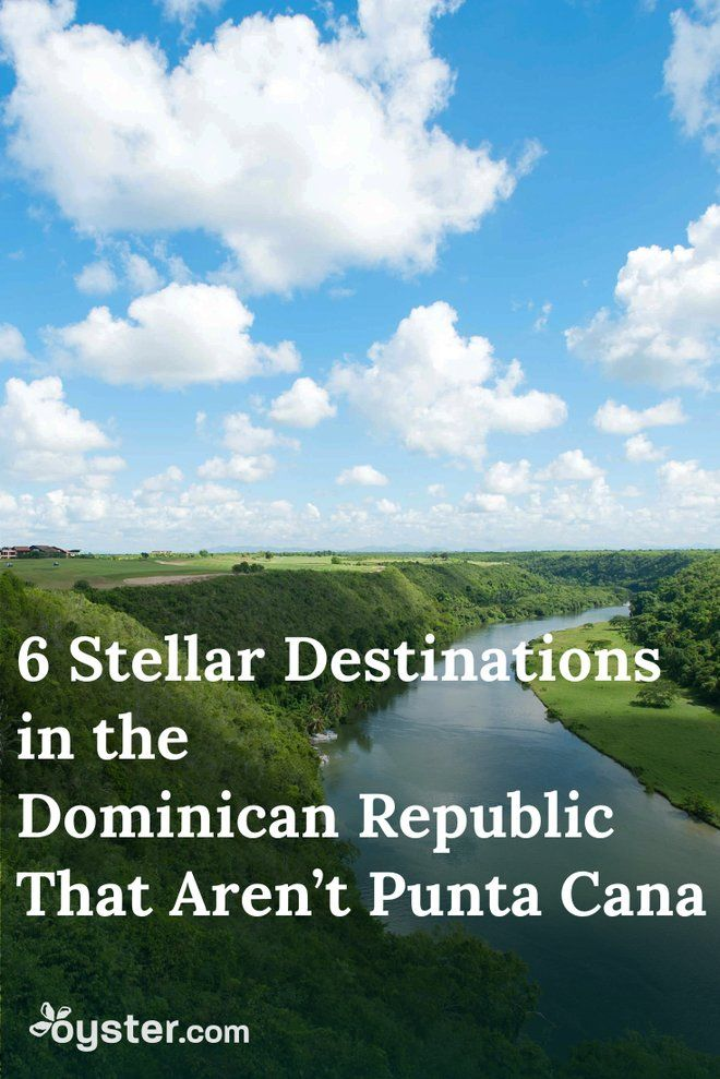 With more than 18,000-square miles, the Dominican Republic has much more up its sleeve than just Punta Cana. Here are six other destinations in the DR that deserve a shout-out too.