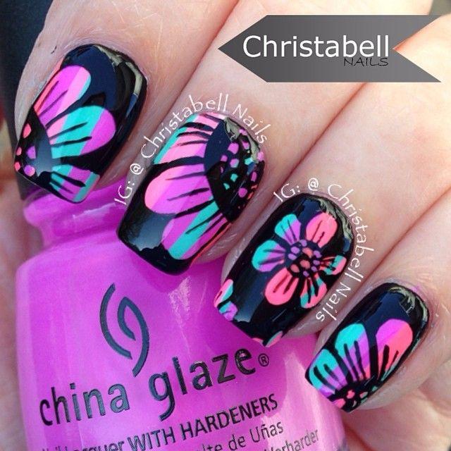 Colorful floral design ✳