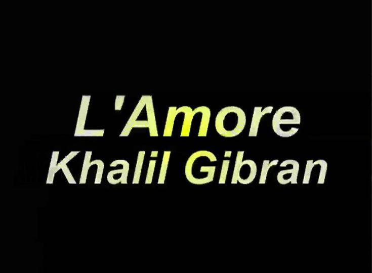 Arnoldo Foà - L'Amore - Khalil Gibran (Poesie e Messaggi di Saggezza)
