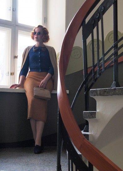 Look anni '30 - Look nel più classico stile anni '30.