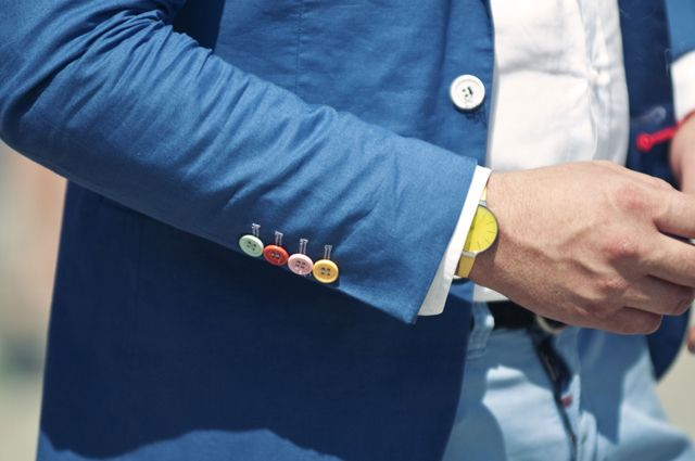 Perfect cuff: Linens Blazers, Men Stuff, Blue, Men Style, Colors, Men Fashion, Cars Girls, Buttons, Girls Style