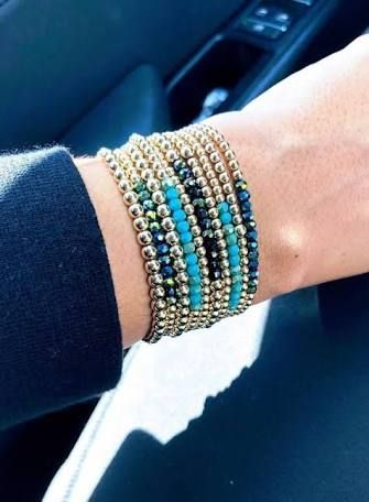 72f2b12f9c3 gold filled beaded ball bracelets - Google Search | Gold filled ...