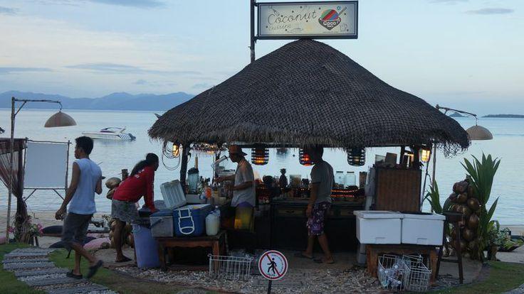 "Coconut Cuisine is a ""nightclub"" on the beach in Koh Samui."