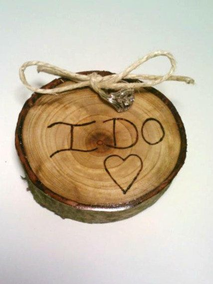 Rustic Ring Bearer Pillow Ring Bearer Pillow by DeerwoodCreekGifts, $25.00