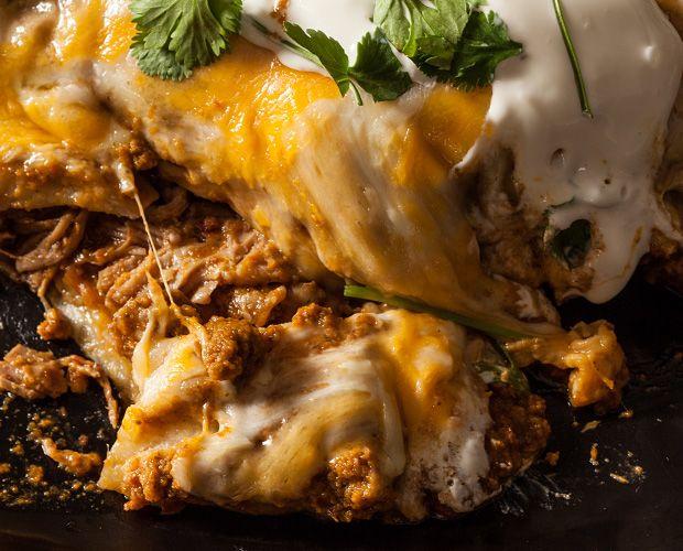 25+ best ideas about Pork enchiladas on Pinterest ...