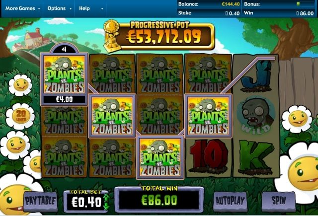 De Plants vs Zombies gokkast is uit! En wat een fantastisch leuke kast is het geworden, vol met humor, verassingen en heel veel verschillende bonus games. Ik beoordeel deze topkast dan ook met een extreem hoog cijfer.