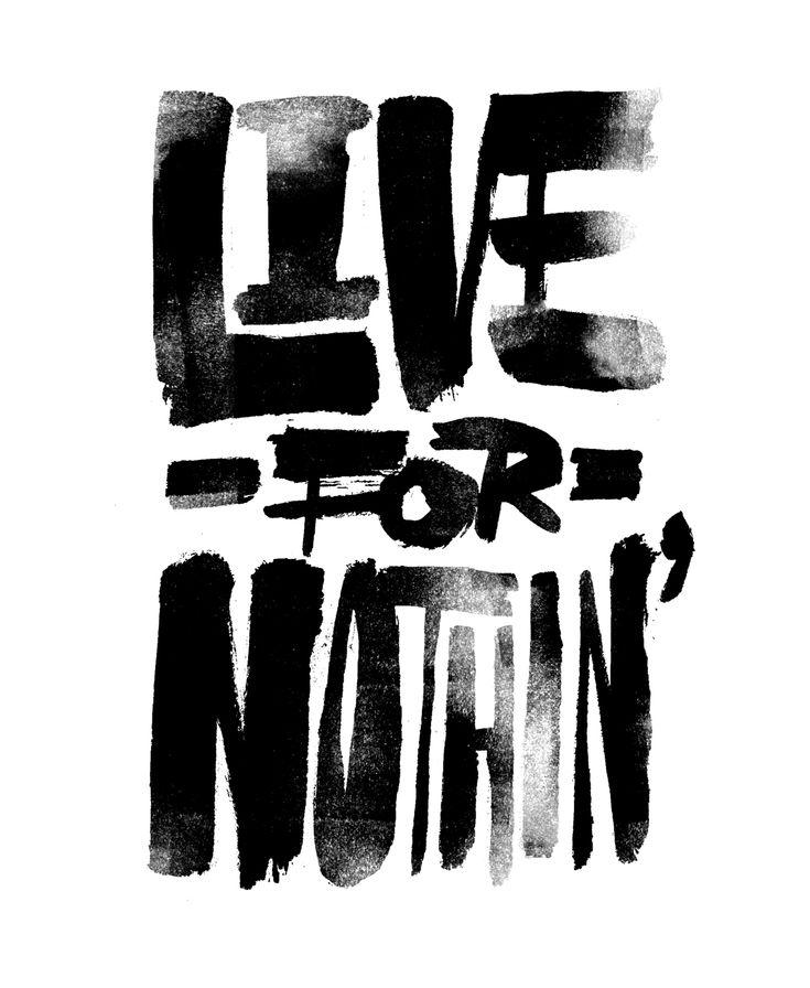 Drawn by Erik MarinovichInspiration, Nothin, Friends Of Types, Erik Marinovich, Living, Typography, Preparing, Letters, Design