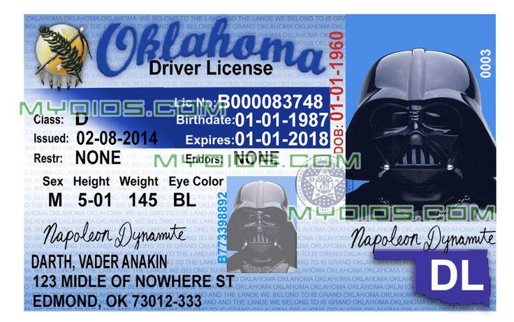 oklahomaidtemplate.jpg (1016×638) Drivers license