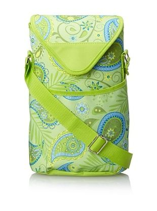 45% OFF Picnic at Ascot Double Bottle Carrier (Paisley Green)