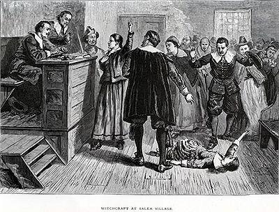 John et Elisabeth Proctor, procès des Sorcières de Salem