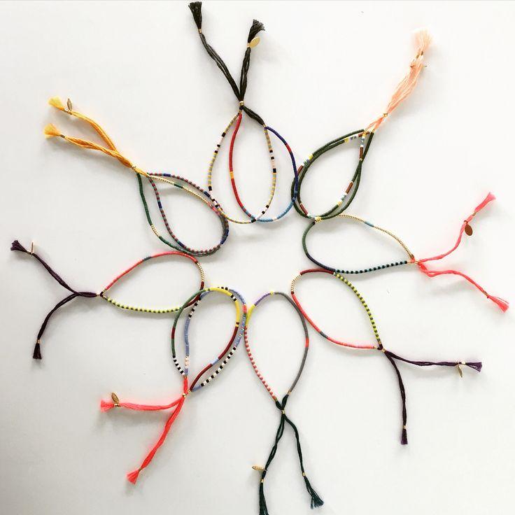 Shashi bracelets.. Friendship bracelets at Fashion Addict.