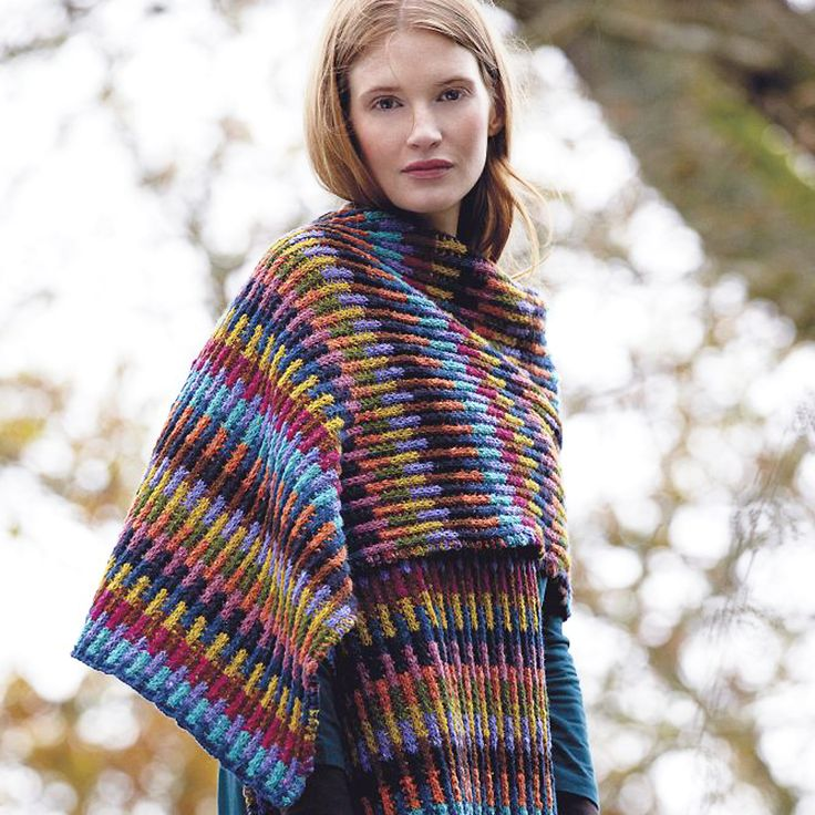 Wrap Yourself In Colour With This Trendy Knitting Pattern Coats, Colors and...