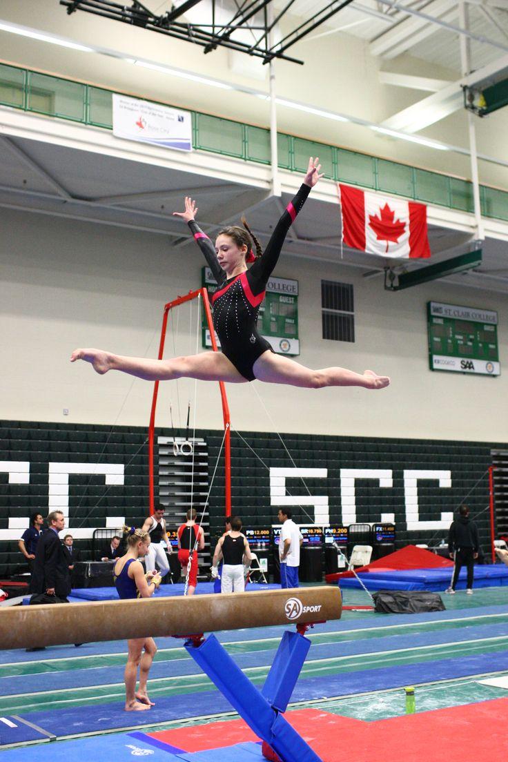 Lia at Ontario Championships 2014 Gymnastics, Ontario