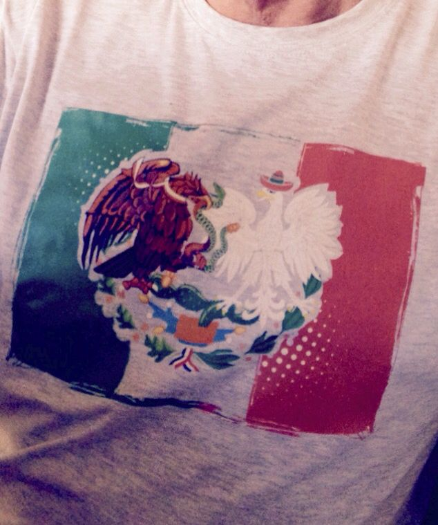 Mexican Polish México Polonia Meksyk Polska Tee shirt Playera koszulki