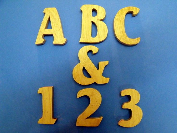 12mm plywood letter, numbers, ampersand 80mm (NOT MDF) craft decopatch art