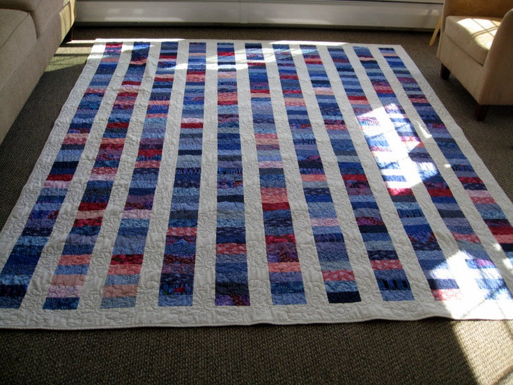 Stacked Coins Quilt // Reversible, Queen Size | For our ...