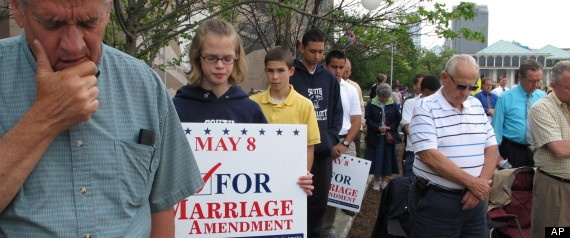 North Carolina Anti-Gay Marriage Amendment 1 Reportedly Written To Protect 'Caucasian Race'