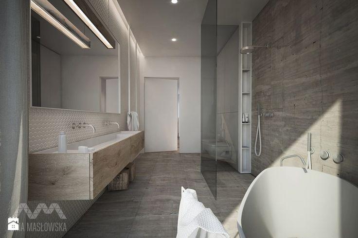 Łazienka styl Minimalistyczny Łazienka - zdjęcie od Ania Masłowska