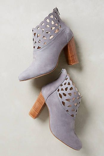 Bea Lacy Booties #anthrofave