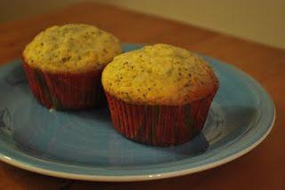 Receita Muffins de Limão e Semente de Papoula (Lemon Poppy Seed Muffins) de Confraria Do Patchwork