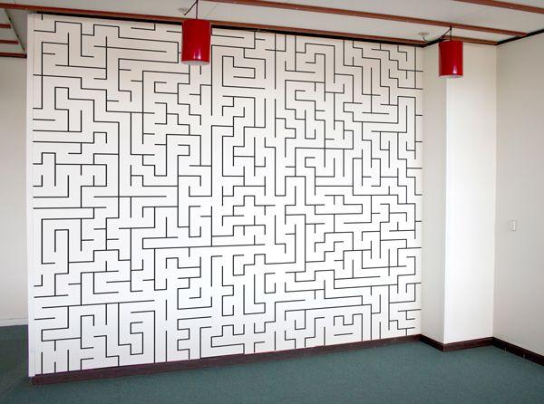Labyrint magnetisk/whiteboard