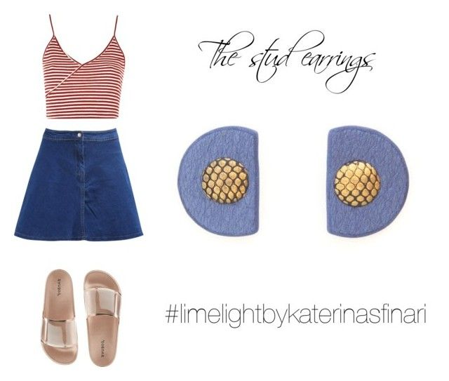 """""""Summer"""" by sfkaterina on Polyvore featuring Topshop and Bamboo"""