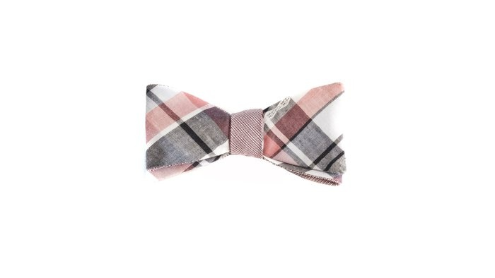 red plaid duo-tone cotton bow tie ++ title of workMenswear Staples, Bows Ties, Bow Ties, Cotton Bows, Bowties, Red Plaid, Pattern Panels, Plaid Cotton, Wild Pattern