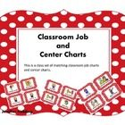 This listing is for a classroom job chart and classroom center charts. The classroom jobs are:-Calendar Leader- Door holder-Classroom Helper -...