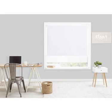 Windowshade Hudson Day & Night Roller Blind White 180 x 210 cm   Spotlight Australia