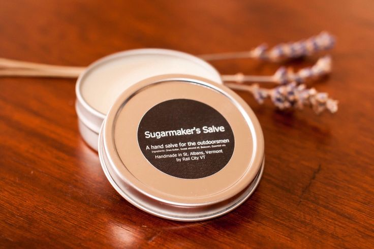 Sugarmakers Hand Salve (Women) by RailCityVT on Etsy https://www.etsy.com/listing/228010515/sugarmakers-hand-salve-women