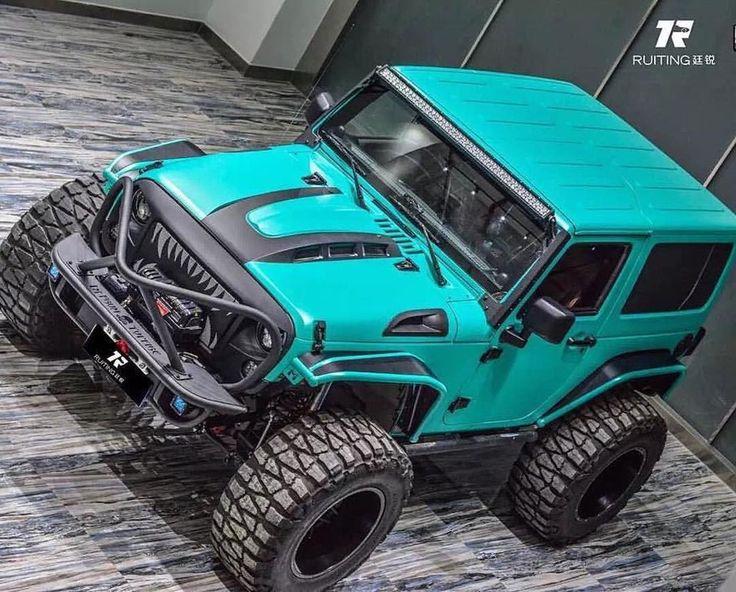Be unique www.jeepbeef.com @shanghaijeepin ・・・ #jeep #wrangler #jku #offroad #jeepchina #china #lifted #liftedjeeps #jeepbeef