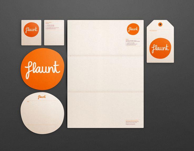 flaunt - corporate design