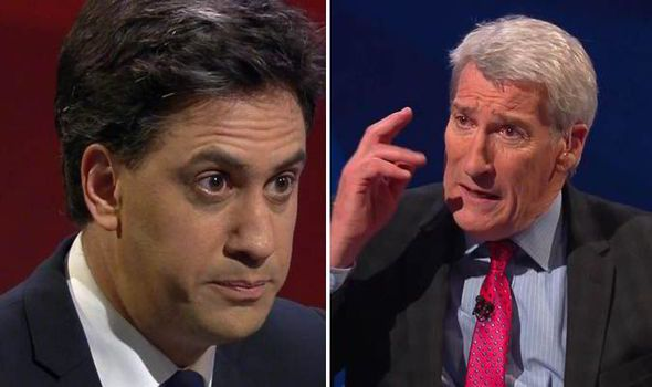 Jeremy Paxman asks Ed Miliband if he's 'OK' after RELENTLESS ...