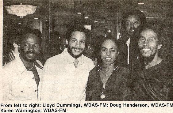 **Bob Marley** & Company, Warwick Hotel, Philadelphia, PA, USA, November 1979. ►Press Party ►►More fantastic pictures, music and videos of *Robert Nesta Marley* on: https://de.pinterest.com/ReggaeHeart/